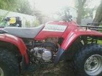 I've a nice Honda Fourtrax 300cc 2wd, Has new tires,