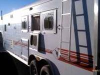 This trailer has it all: 12 ft short wall, cal king