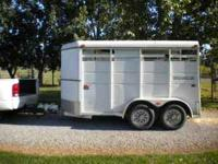 horse trailer logan Home and garden for sale in the USA - gardening supply - Buy and sell garden ...