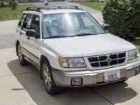 Selling our 98 Forester. My wife and I call her Little