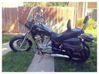 Selling our '98 Suzuki Intruder-1400. Low miles,