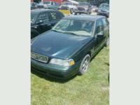 Parting out 1998 Volvo S70. Good running 5 cylinder