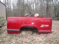 For sale is a truck bed off a 98 short-bed z71. The bed