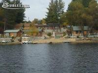 Cabins on the lake in, Lake Michigan, Boat Rental,