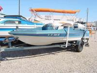 1988 18' Bayliner Bass - Force 125 Outboard, Fish