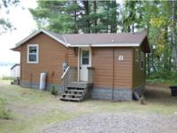 Former resort cabin, very neat and clean. Comes