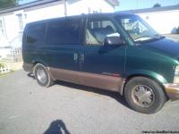 98 chevy astro van 4.3L v6.  all wheel drive great in