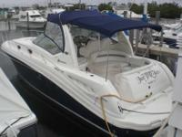 2005 Sea Ray 340 SUNDANCER She has 3 TVs
