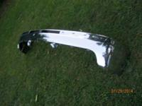 99-02 Chevrolet 1500 Chrome bumper. 3 brackets