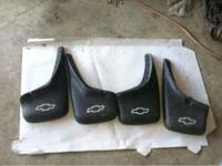 A set of 4 mud guards off of a 02 silverado, will fit