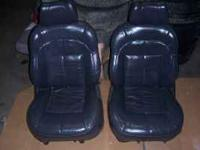 These are dark charcoal almost black leather seats in