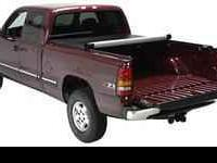 Velcro. New in box. Sportsmaster Roll-Up Tonneau Cover.