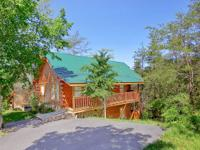 Offering a 2 room 2 bath log cabin vacation rental for