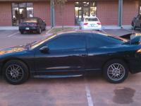Black Mitsubishi Eclipse  99'  121K  Tan leather