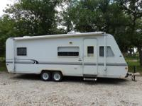 1999 Trail Light 25' bumper-pull travel trailer, empty