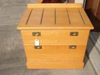 Two Drawers--Very nice condition. This is a very sturdy