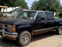 '99 Chevy Crew Cab, 3/4 Ton, 4 WD, 454 5 Speed, 167,000