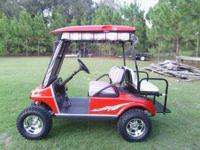 99 club car golf cart, lights, turn signals, brake