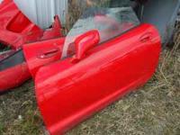 1999 corvette parts for sale 2 fenders doors front cap