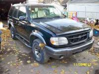 Up for parts I have a 1999 Ford Explorer Sport. The