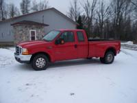 selling very nice 1999 ford super duty 2 wheel drive
