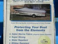 NEW Guardian Trailable Boat Cover fits 17'-19' boat up