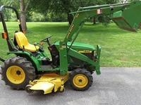 John Deere 4100 , 20 H.P.  belts , blades , bearings in