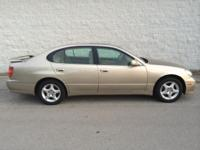 99 Lexus GS 400 V8 rear wheel drive in GREAT condition.