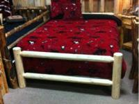 Holiday Day Log Bed SALE!! Queen log beds also twin and