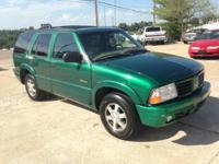 AVAILABLE: 1999 OLDSMOBILE BRAVADA ALL-WHEEL DRIVE - V6