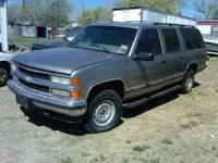 i have a 99 suburban 4x4 for parts. bad motor