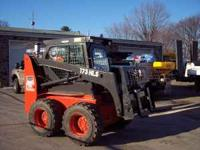 52 hp Kubota (Diesel) 1100 hrs. Enclosed Cab Tires 75%