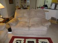 Living room 3 peace set; including a 3 seat couch, a 2