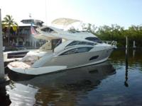 2009 Marquis 500 SPORT BRIDGE This one owner vessel is