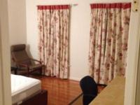 Furnished and large bed room in a lovely, clean and