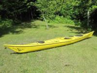 Here is a very nice sea Kayak. It is a Sirocco by
