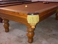 Golden West Nevada 9' Pool Table, Solid Wood, We can