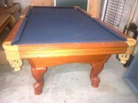 Used Pool Table Miami, Leisure Bay 8' Pool Table