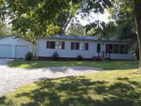 *3 BR, 1BA mobile home on 5+ partially wooded acres.