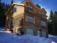 Log home minutes from the slopes. Outdoor activities