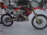 i have a 1999 cr250r dirtbike for sale. The only reason