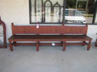 SEARCHING FOR A REALLY LONG BENCH? 9FT TURQUOISE AND