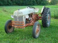 9 N Ford tractor, Had been sitting in shed several