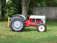 9N Ford tractor, $2000.00, has new tires & wheels front