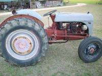 this is a 9N ford tractor runs GREAT and has very good