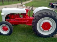 What I have is a 9N Ford Tractor that has been