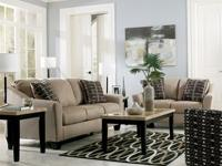 9PC LIVING ROOM SET FOR ONLY $24.95/WK! Comes with Sofa