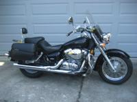 I am the 2nd owner of this bike. It is a Black, Honda