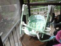 I have this baby swing that I am selling I have no use