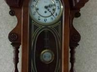 I have a beautiful 8 day key wind clock that plays the